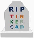 Grave Tinkercad
